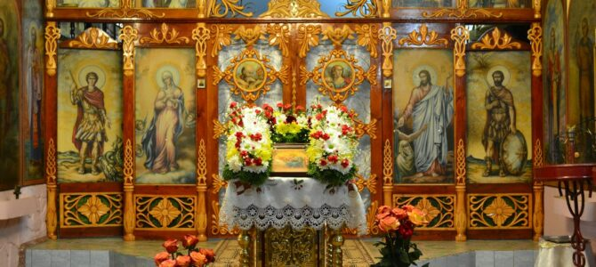 Праздник святого апостола и евангелиста Марка. Архиерейская служба в Свято-Пантелеимоновском храме.